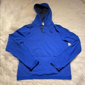Abercrombie & Fitch Blue Hoodie